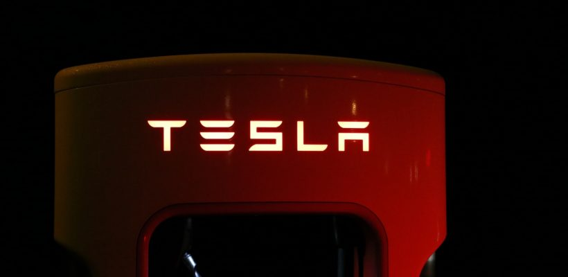Tesla logo mørke