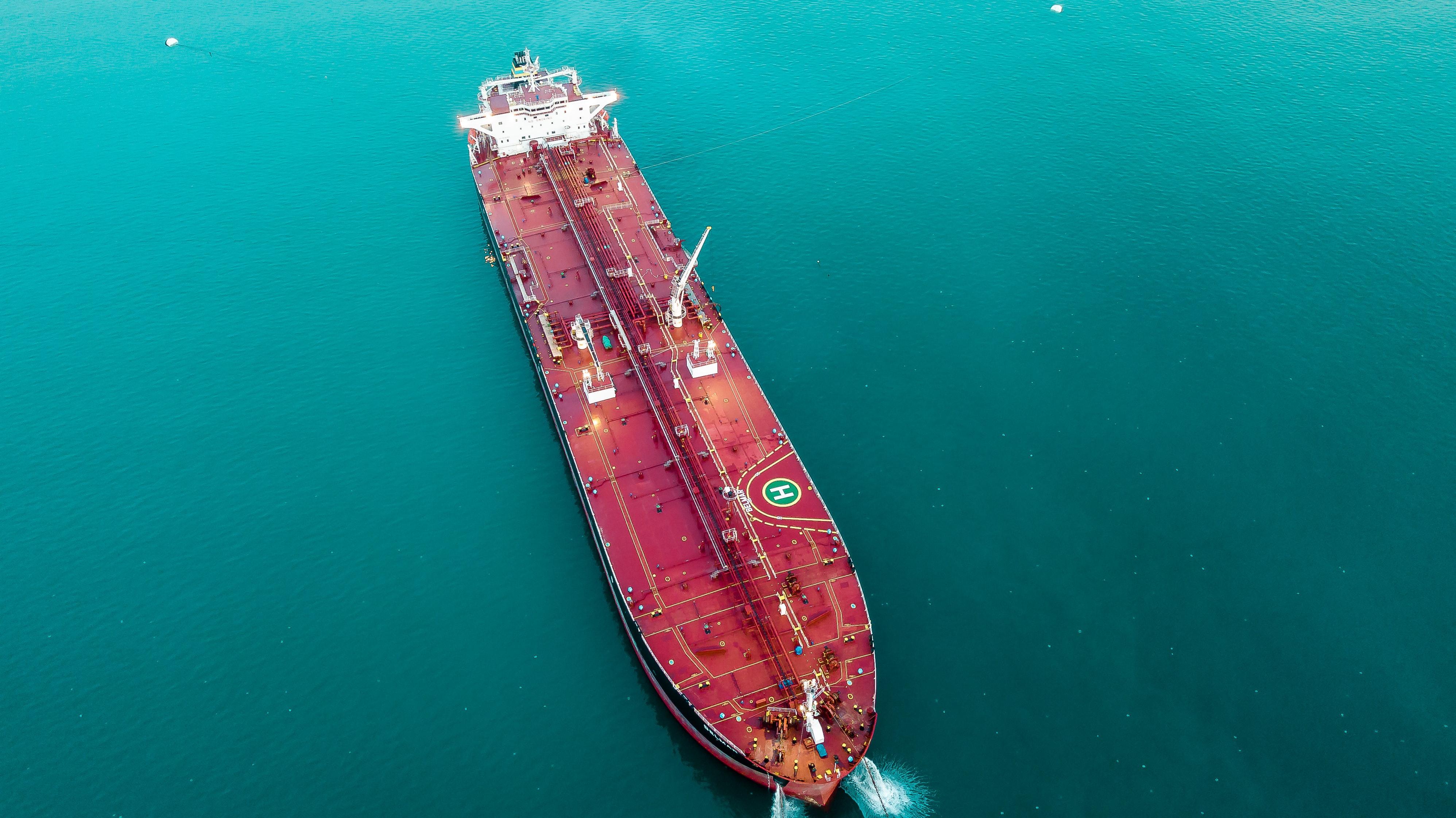 Carrgo ship ocean
